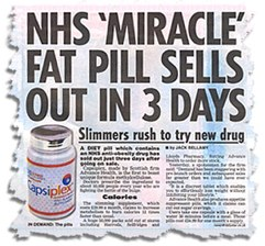MIRACLE DIET PILLS - By The One Minute Miracle. Voted #1 - PEOPLE
